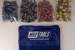 SSL4S100 No-Mar Sheet Metal Fasteners 100 Piece Kit w/ Carry Bag