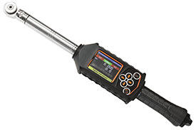 PRW-0800-1110-WI Cleco LiveWire I-Wrench Torque & Angle Wrench w/ Barcode Scanner, Torque Range (ft-lb): 59.2-592