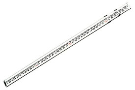 06-808C CST/berger Aluminum 8-Foot Telescoping Rod in Feet, Inches, Eighths