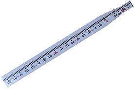 06-925 CST/berger 25ft MeasureMark Fiberglass Grade Rod in Feet, Tenths, and Hundredths