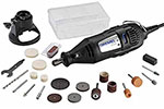 200-1/21 Dremel Two Speed Mini Rotary Kit with 21 Accessories