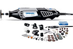 4000/6-50 Dremel 6 Attachments, 50 Accessories High Performance Rotary Tool Kit with Flex Shaft