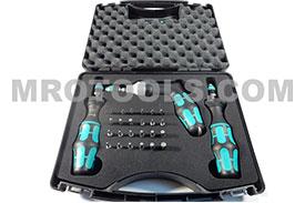 05074739001 WERA 7441/7441/7442 Kraftform Adjustable Torque Screwdriver Set - FLASH SALE
