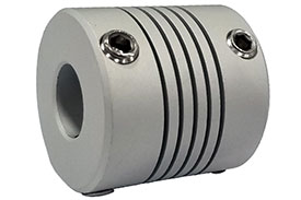 Helical AR075-6-4 Flexible Aluminum Coupling, A Series