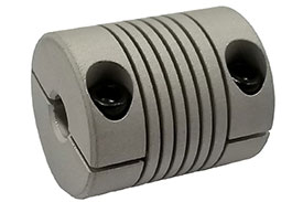 Helical ACR087-10-10 Flexible Aluminum Coupling, A Series