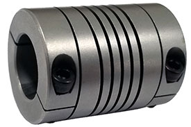 Helical HCR100-12-8mm Stainless Steel Flexible Beam Coupling, H Series