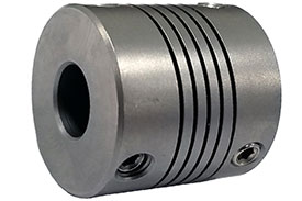 Helical HR100-10-8 Stainless Steel Flexible Beam Coupling, H Series