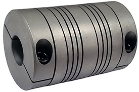 Helical MC7C100-8-8 Flexible Stainless Steel Coupling, MC7 Series