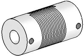 Helical UJ7100-30-8-8 Flexured U-Joint, Stainless Steel