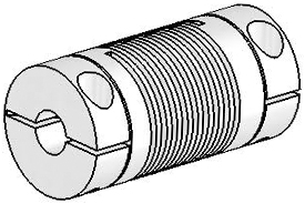 Helical UJ7C075-30-6-6 Flexured U-Joint, Stainless Steel