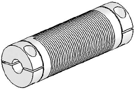 Helical UJ7C075-90-6-6 Flexured U-Joint, Stainless Steel