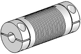 Helical UJAC075-45-8-8 Flexured U-Joint, Aluminum