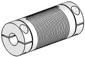 Helical UJAC100-45-12-12 Flexible Shaft Coupling U-Joint, Aluminum