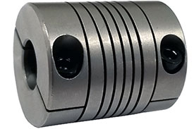 Helical W7C20-6mm-5mm Flexible Stainless Steel Coupling, W Series