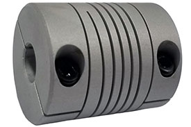 Helical WAC15-5mm-5mm Flexible Aluminum Alloy Coupling, W Series
