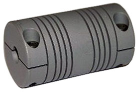 Helical MCAC100-10-8 Flexible Aluminum Motor Coupling, MCA Series