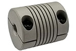 Helical ACR075-8-6mm Flexible Aluminum Coupling, A Series