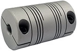 Helical DSAC075-6-6 Double Start Flexible Beam Coupling, DS Series