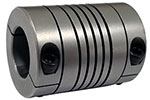 Helical HCR125-20-12 Stainless Steel Flexible Beam Coupling, H Series
