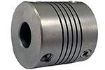 Helical HR050-4-4 Stainless Steel Flexible Beam Coupling, H Series