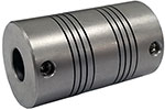 Helical MC7125-10-10 Flexible Stainless Steel Coupling, MC7 Series