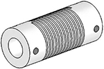 Helical UJ7125-45-16-16 Flexured U-Joint, Stainless Steel