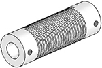Helical UJ7125-90-12-12 Flexured U-Joint, Stainless Steel