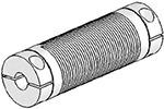 Helical UJ7C075-90-8-8 Flexured U-Joint, Stainless Steel
