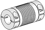 Helical UJ7C125-30-16-16 Flexured U-Joint, Stainless Steel