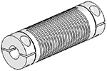 Helical UJ7C125-90-16-16 Flexible Shaft Coupling U-Joint, Aluminum