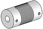 Helical UJA075-30-6-6 Flexured U-Joint, Aluminum