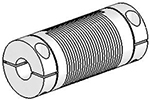 Helical UJAC100-45-10-10 Flexible Shaft Coupling U-Joint, Aluminum