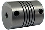 Helical W725-9mm-9mm Flexible Stainless Steel Coupling, W Series