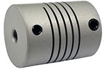 Helical WA25-7mm-7mm Flexible Aluminum Alloy Coupling, W Series