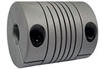 Helical WAC40-14mm-14mm Flexible Aluminum Alloy Coupling, W Series