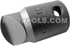OMEGA HTS5 #5 Hi-Torque Recess Bit, 3/8'' Square Drive