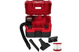 0960-21 Milwaukee M12 FUEL 1.6 Gallon Wet/Dry Vacuum Kit