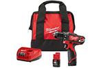 2407-22 Milwaukee M12 3/8'' Drill/Driver Kit