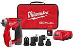2505-22 Milwaukee M12 FUEL Installation Drill/Driver Kit
