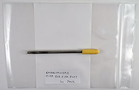 Chucking Reamer, .1990 Diameter, 0.1590 Pilot, HSS, 6'' OAL, RMA0R199U159Z