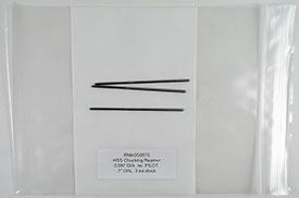 Chucking Reamer, .0870 Diameter, Non-Piloted, HSS, 7'' OAL, RMA0S0870
