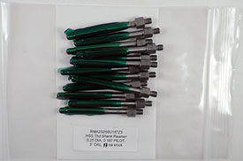 1/4-28 Thread Reamer, .2500 Diameter, 0.1870 Pilot, HSS, 3'' OAL, RMA2S250U187Z3