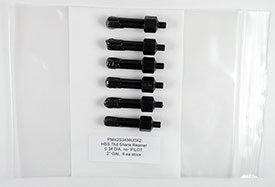 1/4-28 Thread Reamer, .3400 Diameter, Non-Piloted, HSS, 2'' OAL, RMA2S3438U0X2