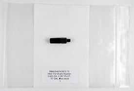 1/4-28 Thread Reamer, .4030 Diameter, 0.3870 Pilot, HSS, .75'' OAL, RMA2S403U387Z.75