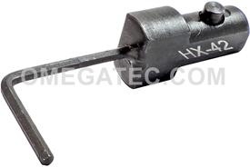 UTICA HX 42 Hex Keys Torque Wrench Head, 'A' Size Interchangeable