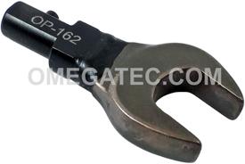 OP 162 Utica Torque Wrench Open End Interchangeable Head ''A'' Size - SAE
